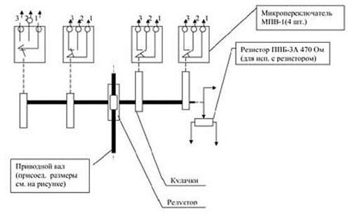 Схема выключателей серии ВКВ, ВКО