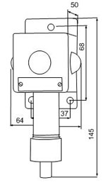Габаритные размеры сигнализаторов ВС-4-3С, мм: