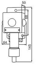 Габаритные размеры сигнализаторов ВС-5-3С, мм: